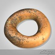 Bread 14 Bagel 3d model