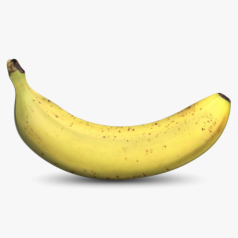 Banana Fruit royalty-free 3d model - Preview no. 1