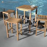 Deck Furniture 3d model