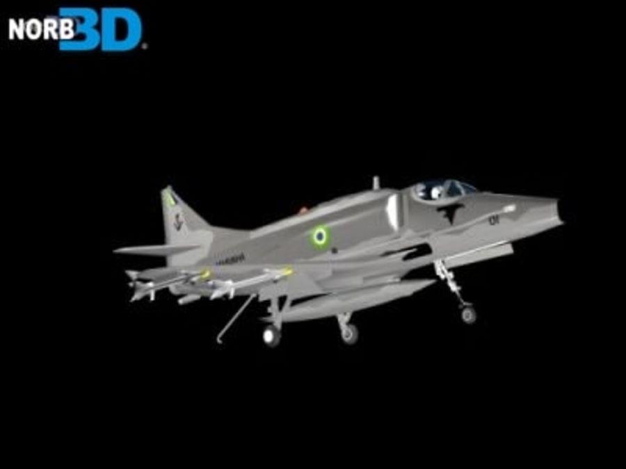 AF1 Skyhawk royalty-free 3d model - Preview no. 2
