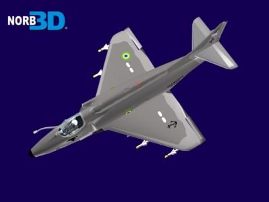 AF1 Skyhawk royalty-free 3d model - Preview no. 4