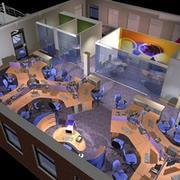 Office Interior 23 3d model