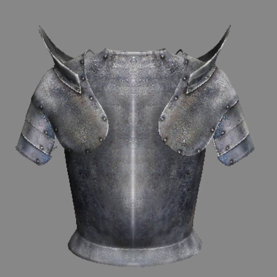 armor.3DS royalty-free 3d model - Preview no. 14