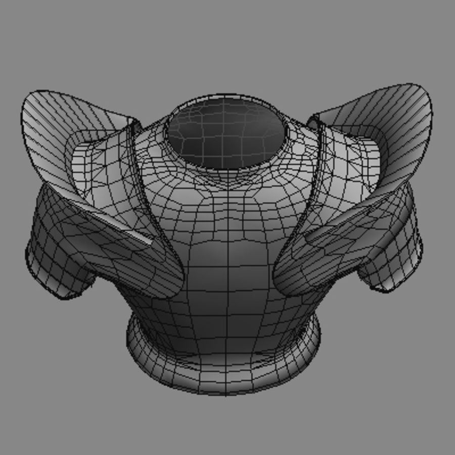 armor.3DS royalty-free 3d model - Preview no. 8