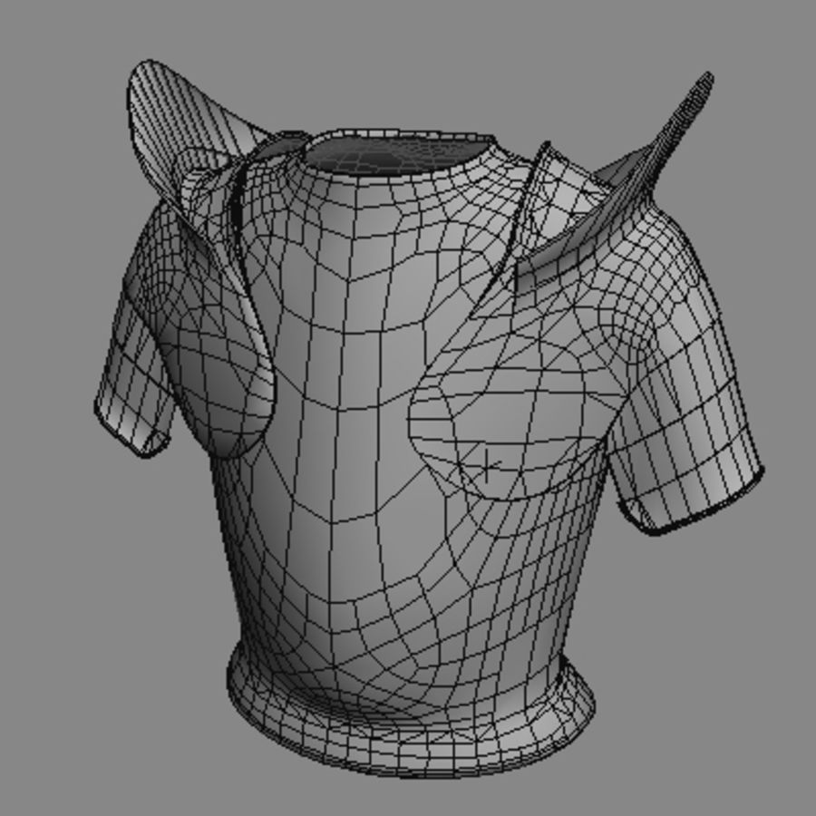 armor.3DS royalty-free 3d model - Preview no. 13