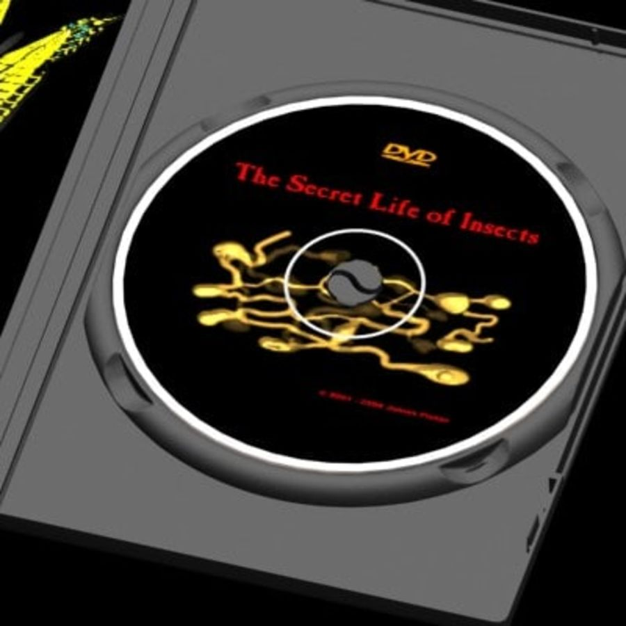 Ultimate DVD Case royalty-free 3d model - Preview no. 7