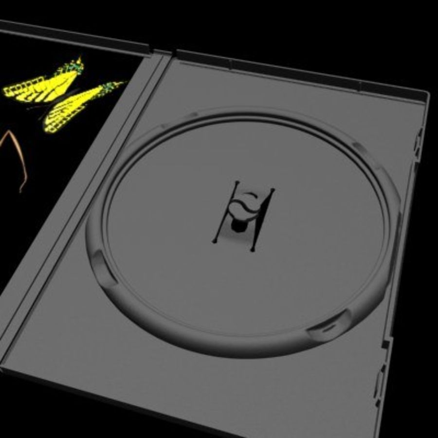 Ultimate DVD Case royalty-free 3d model - Preview no. 2