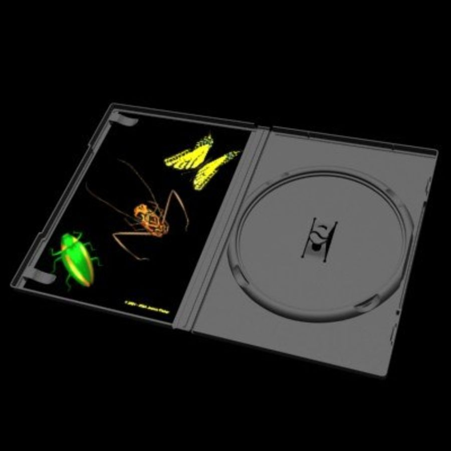 Ultimate DVD Case royalty-free 3d model - Preview no. 3