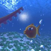 маленькая рыба 3d model