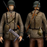 GermanWW2Soldier_GregBreault 3d model