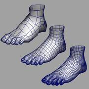Foot v2.0 3d model