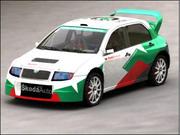 Skoda Fabia WRC 3d model