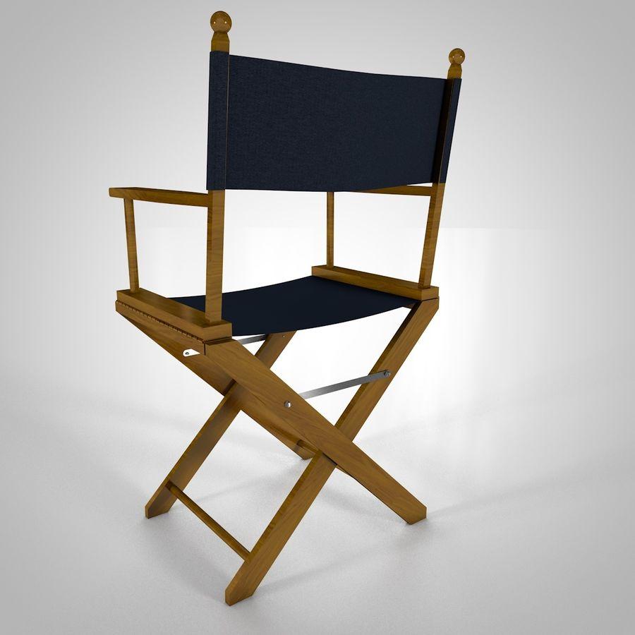 Direktörsstol royalty-free 3d model - Preview no. 2