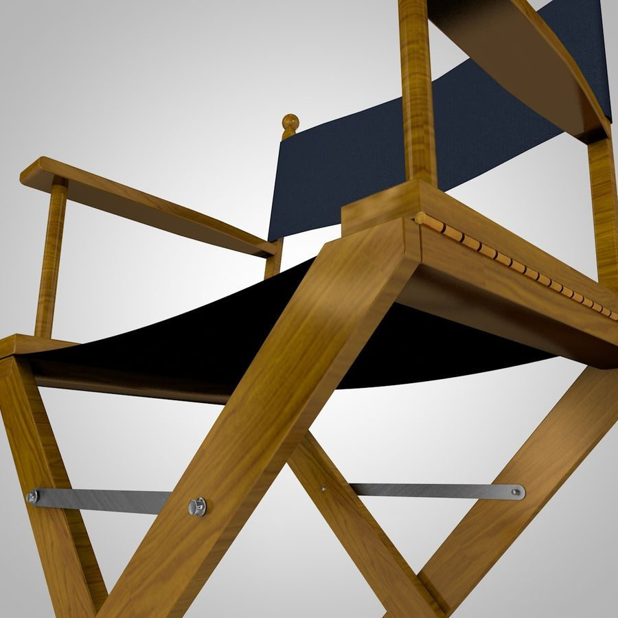 Direktörsstol royalty-free 3d model - Preview no. 4