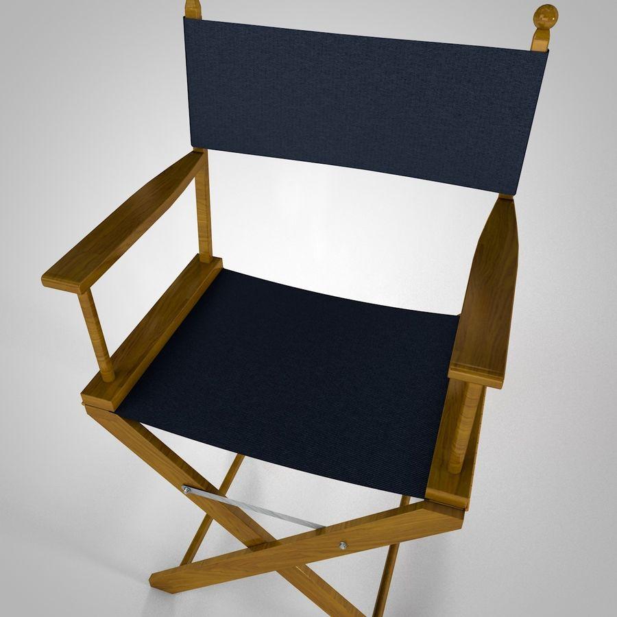 Direktörsstol royalty-free 3d model - Preview no. 3