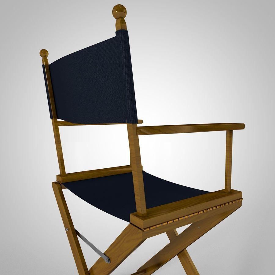 Direktörsstol royalty-free 3d model - Preview no. 6