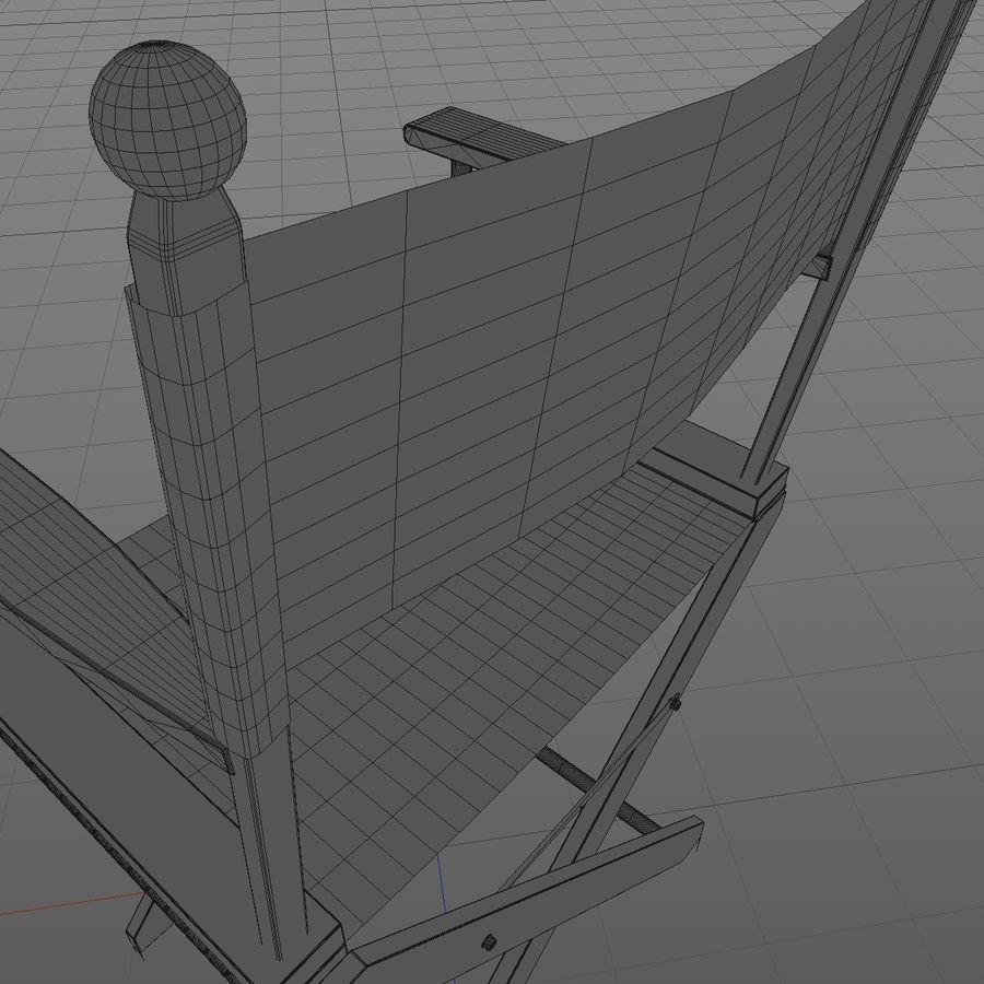 Direktörsstol royalty-free 3d model - Preview no. 9