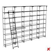Shelves017_max.ZIP 3d model