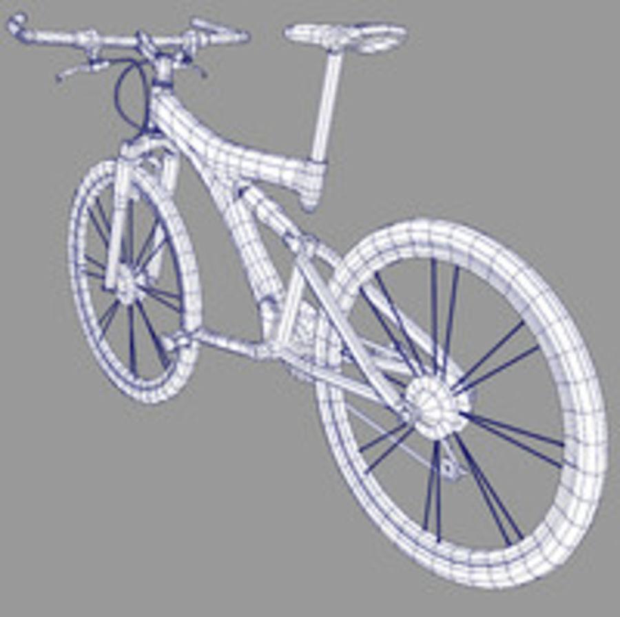 mountain bike royalty-free 3d model - Preview no. 3