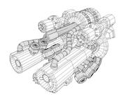 gun.rar 3d model