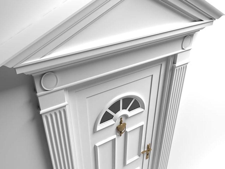 porta royalty-free 3d model - Preview no. 2
