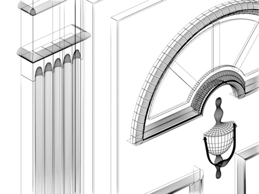 porta royalty-free 3d model - Preview no. 3