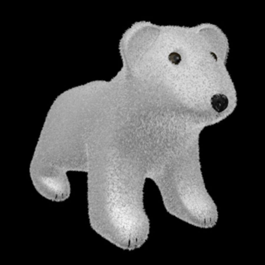 3D Stuff Animal Bear Model royalty-free 3d model - Preview no. 2