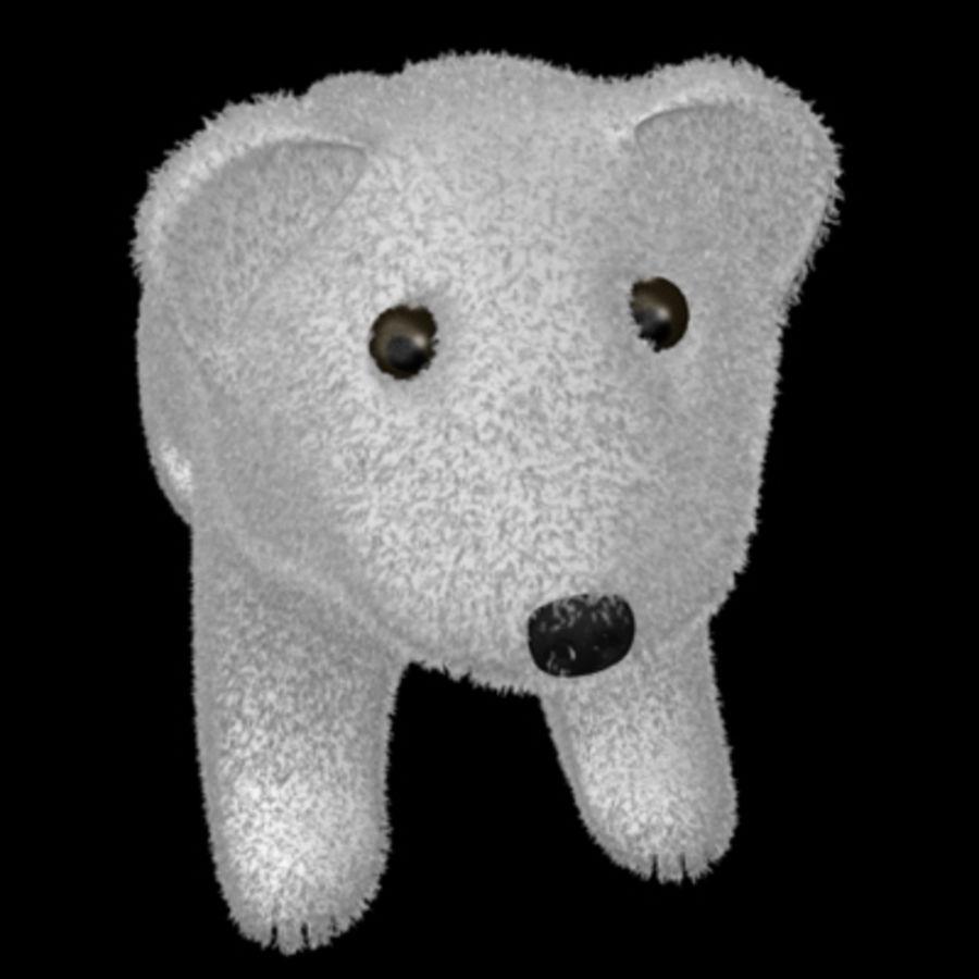 3D Stuff Animal Bear Model royalty-free 3d model - Preview no. 1