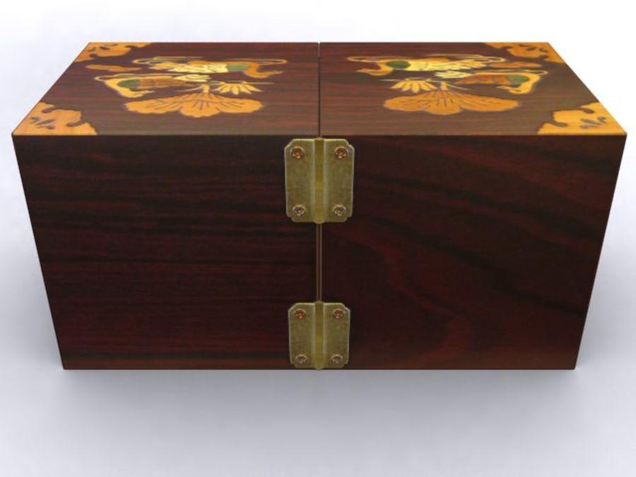 Korean Jewelry Box 3D Model 15 obj max 3ds Free3D