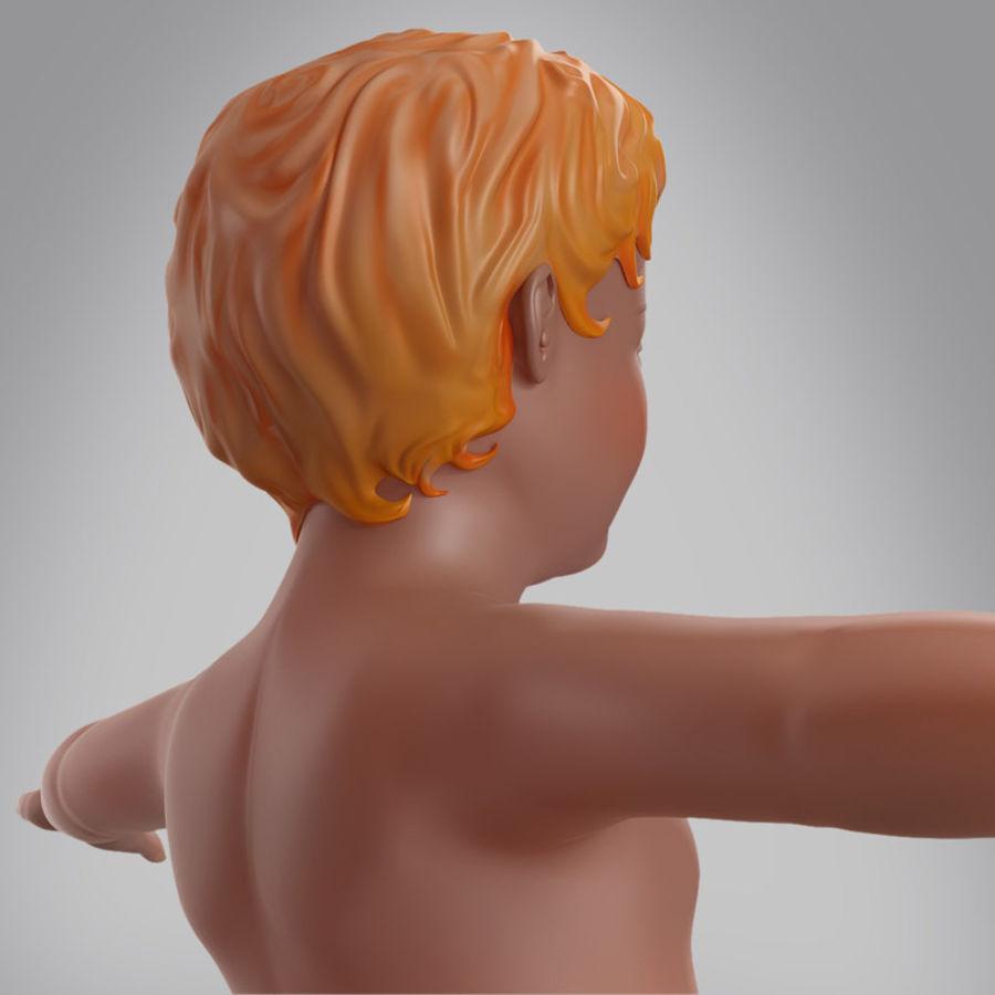 Spädbarn royalty-free 3d model - Preview no. 4