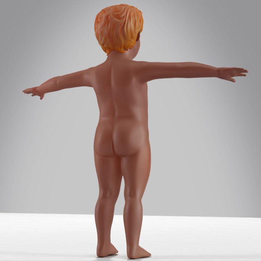 Spädbarn royalty-free 3d model - Preview no. 5