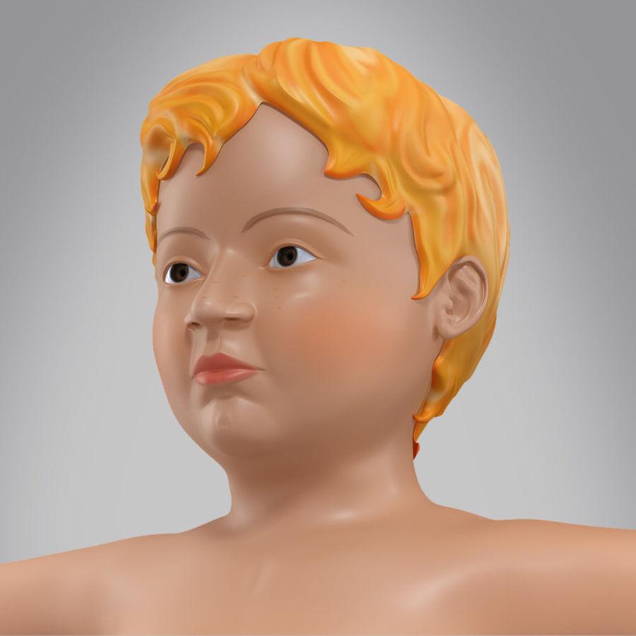 Spädbarn royalty-free 3d model - Preview no. 1