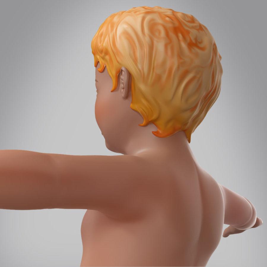 Spädbarn royalty-free 3d model - Preview no. 3