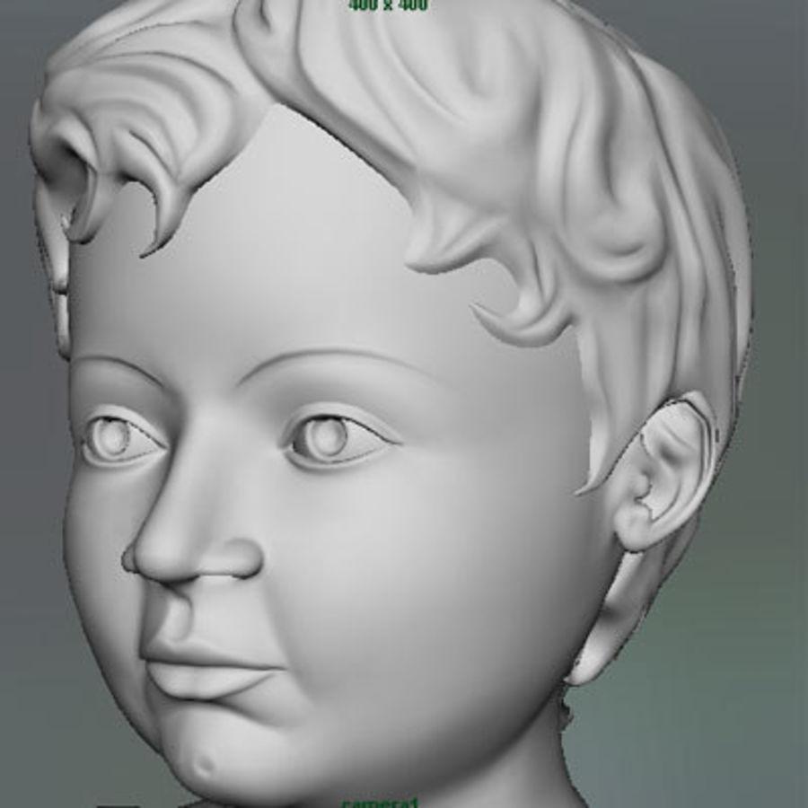 Spädbarn royalty-free 3d model - Preview no. 7