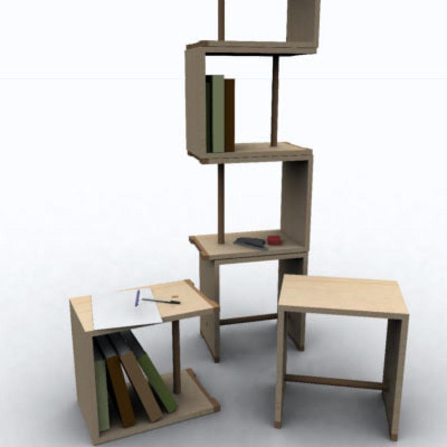ulmer hocker stoll 3d model 12 3dm lwo fbx 3ds max ige obj free3d. Black Bedroom Furniture Sets. Home Design Ideas