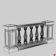 Balustrade005_max.ZIP 3d model
