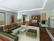 Photorealistic Apartment interior 3d model
