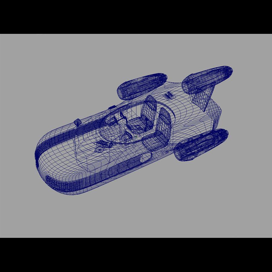 Star Wars Landspeeder royalty-free 3d model - Preview no. 10