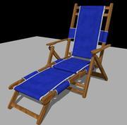 beach_chair_maya 3d model