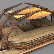 Big Garage 3d model