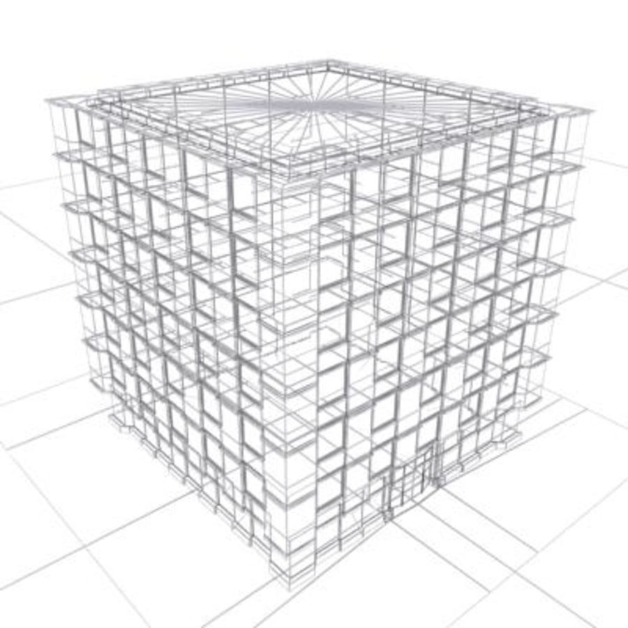 building classic royalty-free 3d model - Preview no. 2