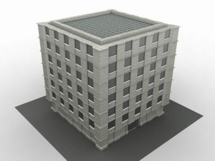 building classic royalty-free 3d model - Preview no. 1