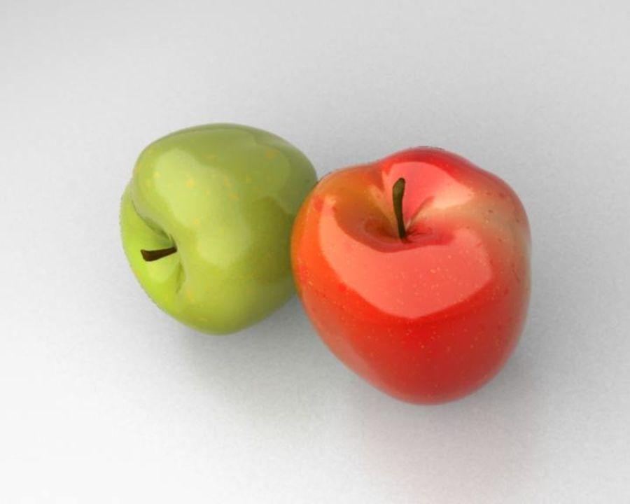 Las manzanas royalty-free modelo 3d - Preview no. 3
