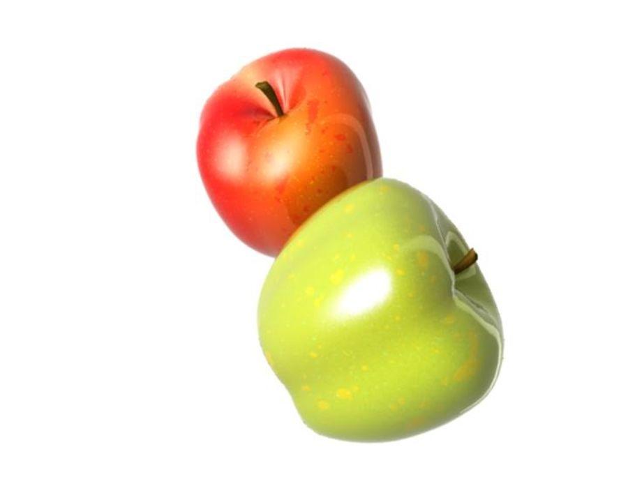 Las manzanas royalty-free modelo 3d - Preview no. 14