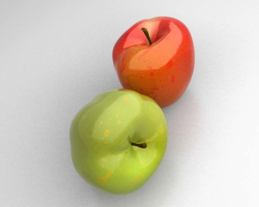 Las manzanas royalty-free modelo 3d - Preview no. 8
