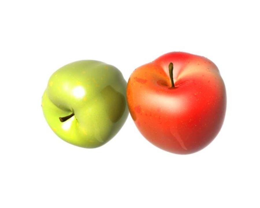 Las manzanas royalty-free modelo 3d - Preview no. 11