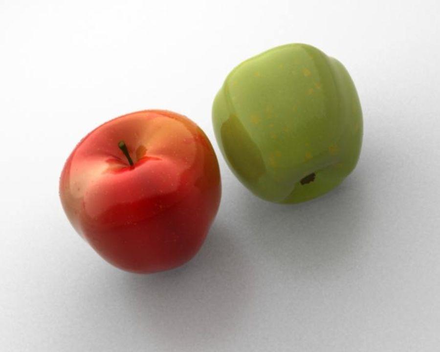 Las manzanas royalty-free modelo 3d - Preview no. 6