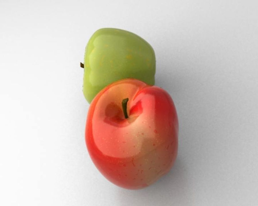 Las manzanas royalty-free modelo 3d - Preview no. 5