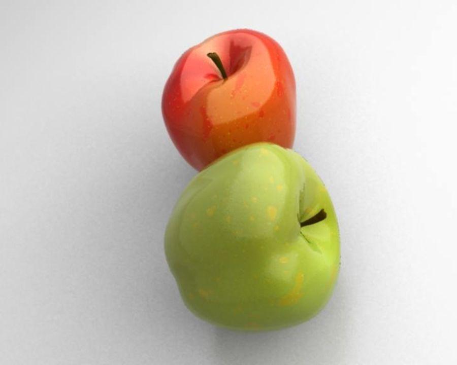 Las manzanas royalty-free modelo 3d - Preview no. 7