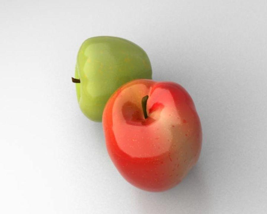 Las manzanas royalty-free modelo 3d - Preview no. 4